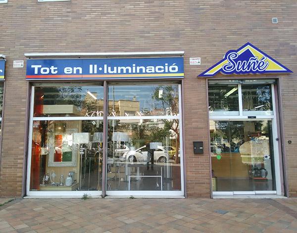 Suñé Il·luminació - Tienda y Exposición en Blanes - Girona